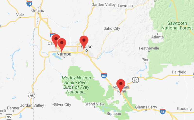 Boise Valley Ortho locations